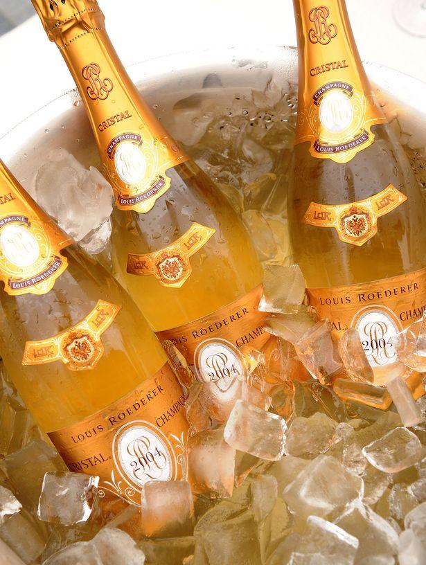 Cristal-champagne
